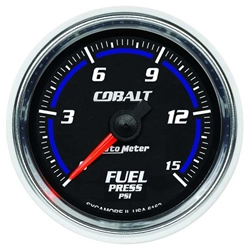 Auto Meter 6162 Cobalt Digital Stepper Motor Fuel Pressure Gauge