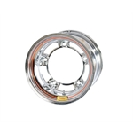 Bassett 53SR4CB 15X13 Wide-5 4 Inch BS Chrome Beaded Wheel