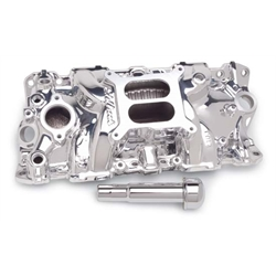 Edelbrock 27034 Performer EPS Intake Manifold, Small Block Chevy