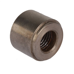 Threaded Steel Weld Bung Fitting, 1/4 Inch NPT Female