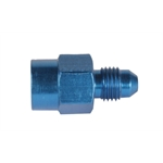 Fragola 495020 Pressure Fitting 1/8 Inch Female to AN3 Male - Blue