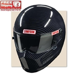 Simpson Carbon Fiber Bandit SA2010 Racing Helmet
