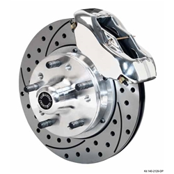 Wilwood 140-11014-DP FDL Pro Series Front Disc Brake Kit, 1937-49 Ford