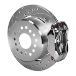Wilwood 140-7141-ZP FDL Rear Brake Kit, Chevy 12 Bolt w/ C-Clips