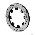 Wilwood 160-7106-BK SRP-BLK 32 Vane Iron Rotor, 12.19 Inch