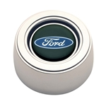 GT Performance 11-1521 GT3 Hi-Rise Ford Oval Horn Button, Polished