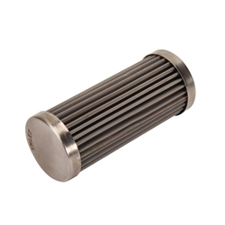 Speedway Premium 4 Inch Fuel Filter Element, Stainless Steel