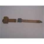 Garage Sale - Lift Latch Retractable Seat Belt, Tan