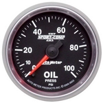 Auto Meter 3653 Sport-Comp II Digital Stepper Motor Oil Pressure Gauge