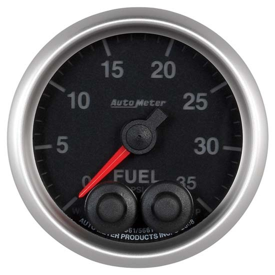 Auto Meter 5661 Elite Digital Stepper Motor Fuel Pressure Gauge