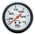 Auto Meter 5823 Phantom Mechanical Oil Pressure Gauge, 150 PSI, 2-5/8
