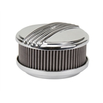 OTB Gear 4471 Mohawk Style Air Cleaner, Offset Base, Polished
