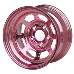Aero 52-984720PIN 52 Series 15x8 Wheel, 5 on 4-3/4 BP, 2 Inch BS IMCA