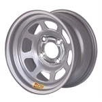 Aero 55-074030 55 Series 15x7 Inch Wheel, 4-lug, 4 on 4 BP, 3 Inch BS