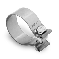 Hooker 41165HKR Stainless Steel Band Clamps, 2-1/2 Inch, 2-Pack