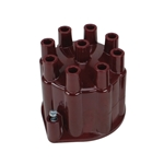 PerTronix D650701 Flame-Thrower V8 Distributor Cap, Red, Socket-Type