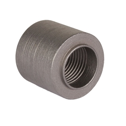 Threaded Steel Weld Bung Fitting, 1/2 Inch NPT Female