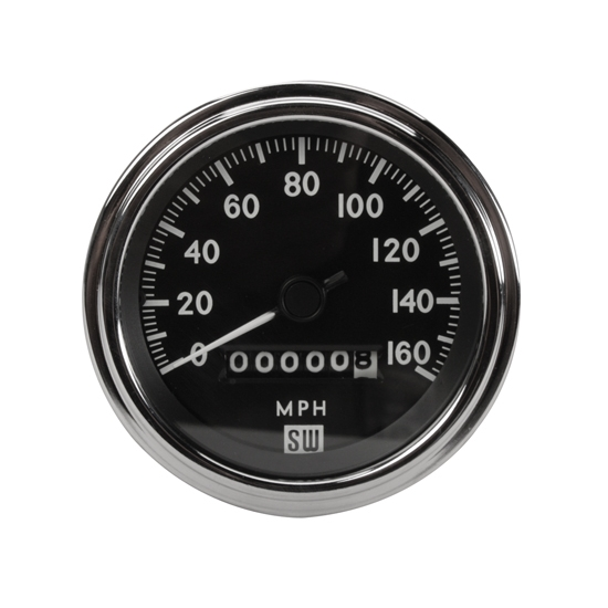stewart warner deluxe tachometer electric inch stewart warner 550bp d deluxe speedometer mechanical 3 3 8 inch