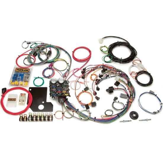 painless 20110 1966 1967 chevy ii 21 circuit wiring harness
