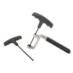 Valve Lash Rocker Wrench, 5/8 In w/ 3/16 and 7/32 In. T-Wrenches