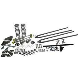 Deluxe Coil-Over Rear Suspension Kit, Plain Finish