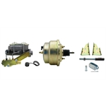 64-72 GM A, F, X Body Brake Booster Conversion Kit, 1-1/8 In Bore