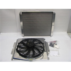 Garage Sale - AFCO Dragster Double Pass Radiator With Fan & Shroud