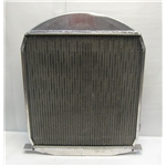 Garage Sale - Aluminum 1928-1929 Ford Radiator - Chevy Engine