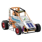 Garage Sale - R&E Enterprises Die Cast Brett Anderson Midget Sprint Car, 1/18th Scale