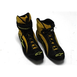 Garage Sale - Alpinestars F1-K/T Shoes, Yellow/Black, Size 7.5