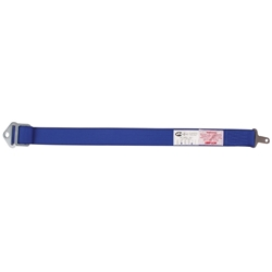 Garage Sale - Simpson Blue 27 In. Single Anti-Sub Racing Seat Belt, Cam Lock, 2 Wide