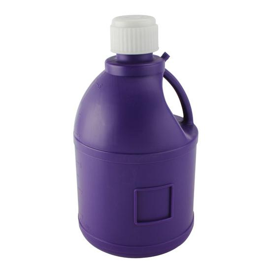 Round Purple Utility Jug, 5 Gallon