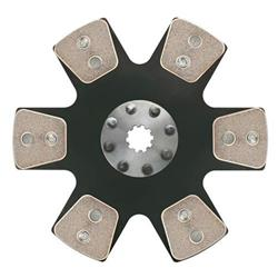 Ram Clutches 1021 10.5 Inch Metallic Clutch Disc, 1-1/8 Inch 10-Spline