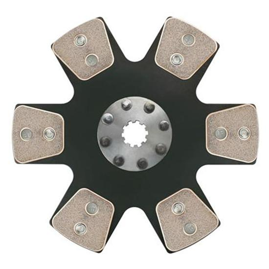 Ram Clutches 1025 10.5 Inch Metallic Clutch Disc 1-1/16 Inch 10-Spline