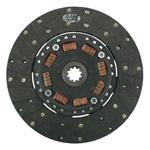 Ram Clutches 301M 10.5 Inch Organic Clutch Disc, 1-1/8 Inch 10-Spline