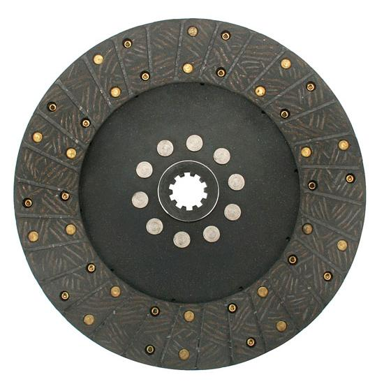 Ram Clutches 255 10.5 Inch Organic Clutch Disc, 1-1/16 Inch 10-Spline
