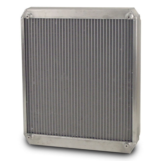 AFCO 80108NZ Dragster/Roadster Double Pass Radiator w/ Fan and Shroud
