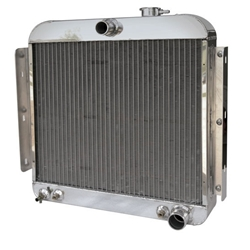 AFCO 80163-S-NA-Y  1955-56 Chevy Aluminum Radiator, Chevy Engine