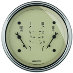 Auto Meter 1824 Antique Beige Air-Core Dual Gauge