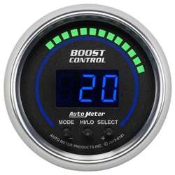 Auto Meter 6181 Cobalt Digital Boost Controller Gauge, 2-1/16 Inch
