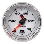 Auto Meter 7153 C2 Digital Stepper Motor Oil Pressure Gauge