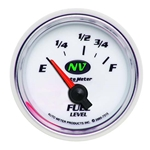 Auto Meter 7315 NV Air-Core Fuel Level Gauge, 2-1/16 Inch