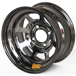 Aero 31-984240BLK 31 Series 13x8 Wheel, Spun 4 on 4-1/4 BP 4 Inch BS
