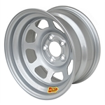 Aero 52-084540W 52 Series 15x8 Wheel, 5 on 4-1/2 BP, 4 Inch BS Wissota
