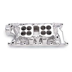 Edelbrock 54351 F-28 Dual-Quad Intake Manifold, Ford 4.7/5.0L