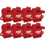 MSD 82858 Multiple Spark Plug Coil Kit for LS1, LS6, 8-Pack