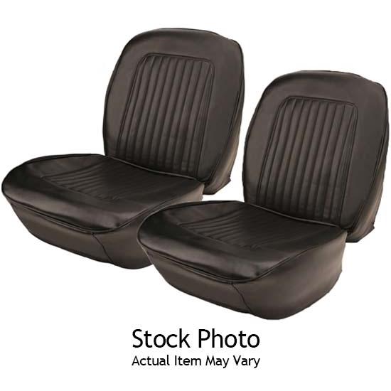 Parts Unlimited 92632902 1965 Nova SS Black Bucket Seat