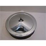 Garage Sale - Chrome Air Cleaner With Washable Filter, 14X4 Inch