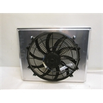 Garage Sale - AFCO 1935 Ford Aluminum Fan Shroud With 16 Inch Fan