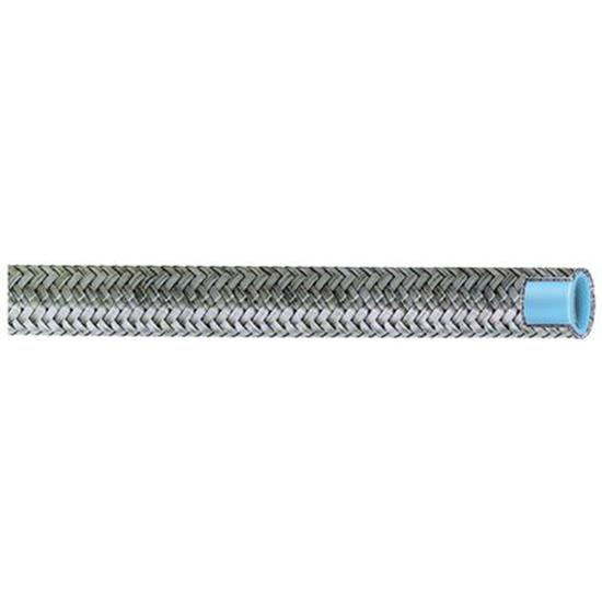 Aeroquip FCF1009 Stainless Steel Braided AC Hose, -10 AN, 9 Ft. Length